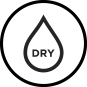 Dry Water Droplet icon